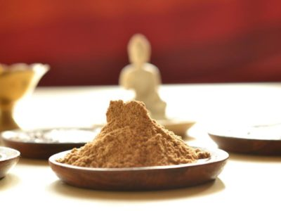 Ground dried ginger